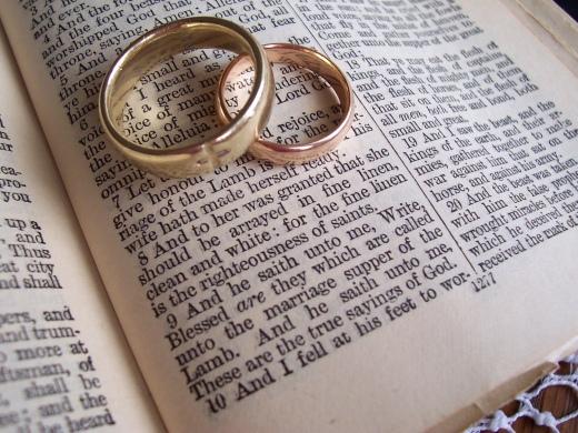 wedding band bible