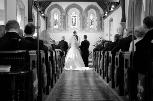 bridegroom aisle