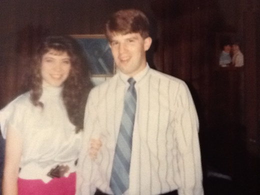 I think this was in 1990 when Greg was a freshman in college and I was a senior in high school