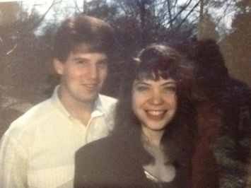 Greg and April - when we were in college