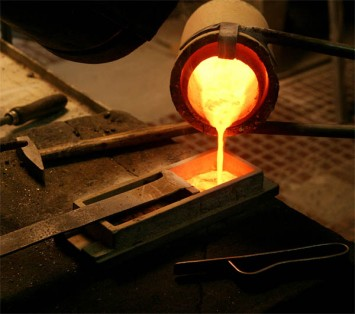 Mongolian Gold being refined to 99.99% purity.   http://www.mgs.mn/refining.html