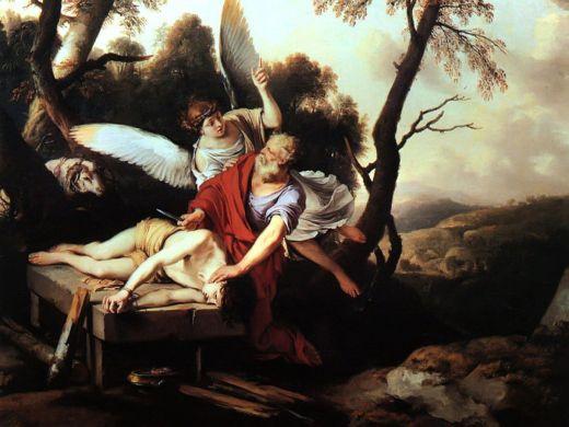 Abraham-and-Isaac-Laurent-de-La-Hire