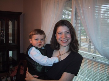 April and son 2003
