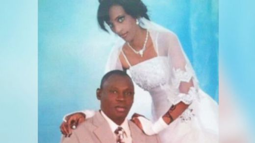 Meriam Yehya Ibrahim and her husband - photo credit www.abcnews.go.com