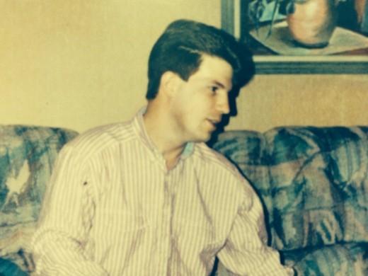 Greg in 1998