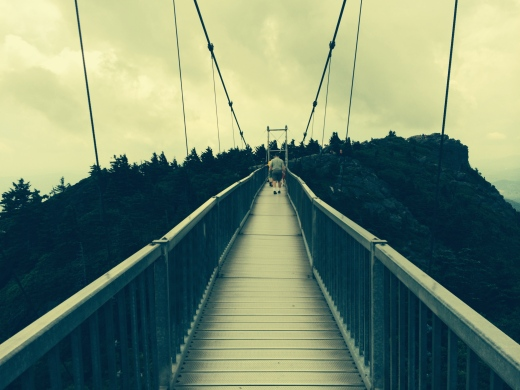 Mile High bridge at Grandfather Mountain