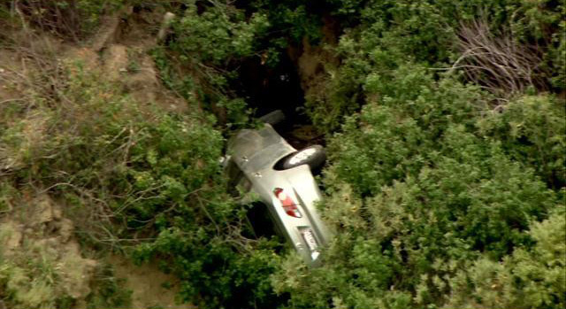 from CBSLosAngeles (picture not related to the wreck in the story)